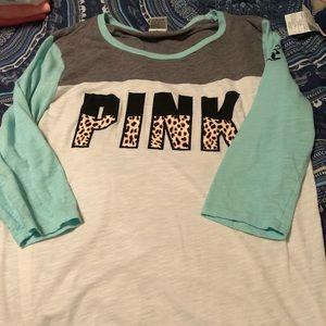 Two Victoria's Secret T-shirt's